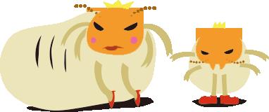 シロアリ女王と王