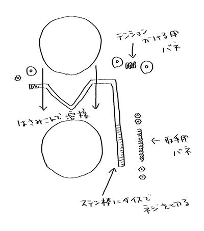 ダンパーの構造